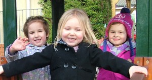 Children at Wellingborough Day Nursery