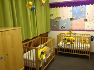 Sleep room at Wellingborough Day Nursery