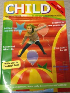 Child Magazine cover March/April