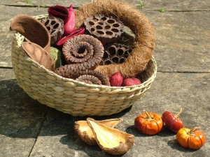 Natural Treasure Basket