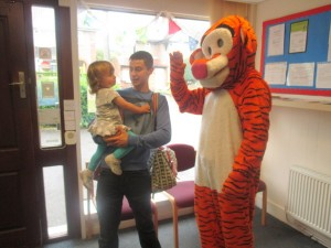 Tigger at Wellingborough Day Nursery