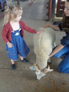 At the farm with Wellingborough Day Nursery