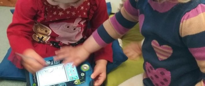 Using technology at Wellingborough day nursery preschool